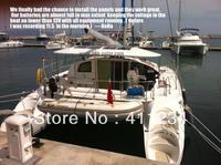 100w semi flexible photovoltaic solar PV panels system,sunpower cell,marine solar panel ,high efficiency,Yacht,boat,Caravan