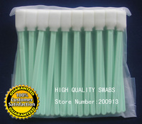 EXPRESS SHIPPING 2000 pcs Printer Cleaning Swabs Solvent Foam Tipped Cleaning Swabs swab for Epson Roland Mimaki Mutoh Printer