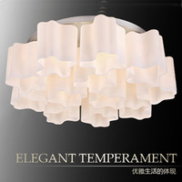 Modern brief led ceiling light fashion little cloud lamps living room lights bedroom lamp study light