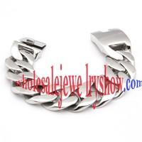 Cool Style Silver titanium bracelets for men