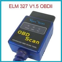 ELM327 V1.5 OBD2 OBD II Car Diagnostic Scanner USB Scan Tool CAN BUS Interface For BMW Ford Kia Mercedes Honda, Free Shipping