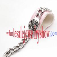 Silver Disk Bracelet Crystal Avenue Wholesale Jewelry