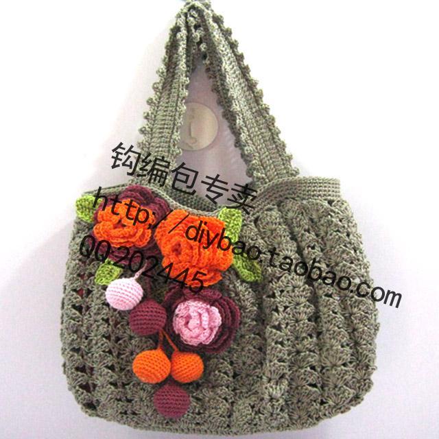 Bolso mano crochet - Imagui