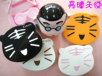 Invisible box cartoon lenses care case tiger glasses box chireach 915