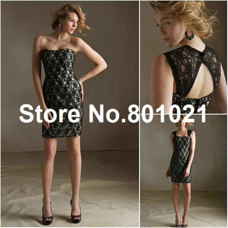 Black Lace Bridesmaid Dresses Lace Removable Keyhole Coverlet Black Champagne Bridesmaid Dresses Cheap