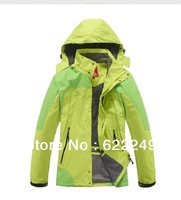 HOT ! 2013 latest women's coat jacket , autumn winter outdoor twinset Climbing clothes sports jacket for women / Free shipping