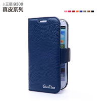 SAMSUNG i9300 mobile phone case 9300 holsteins phone case 9308 protective genuine leather case