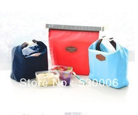 Wholesale 6Color Fashion Portable Multifunction Handy Thermal Insulated Lunch Bag Pouch Summer Ice Cooler Bag for Outdoor Picnic