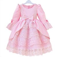 Flower children's clothing child formal dress tulle dress spring noble royal princess dress child female wedding dress one-piece