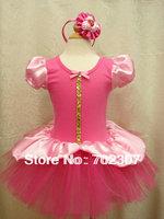 2014 new style girls beautiful tutu dress girl party dress baby princess chiffon dress child petti dress  5pcs/lot  WA01