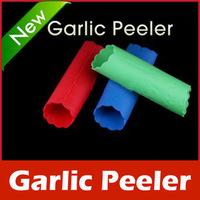 New Arrive: New Magic Silicone Garlic Peeler Peel Easy Kitchen Tool free shipping
