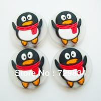 Free Shipping!!! 30Pcs/Lot Original New Design Carton-Penguin Tennis Vibration Dampener