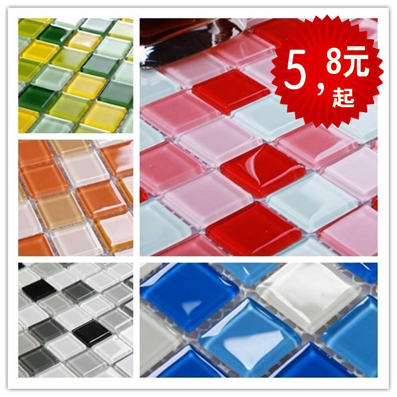 Online kopen wholesale blauwe moza ek tegels badkamer uit china blauwe moza ek tegels badkamer - Mozaiek blauwe bad ...