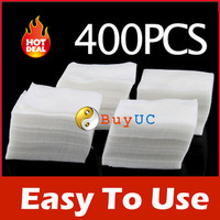New Arrive: 400Pcs Nail Art Wipes Polish Acrylic Gel Tips Remove free shipping