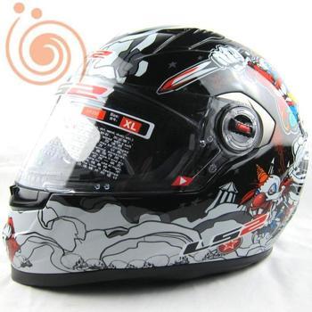 ECE OFF Road Helmet full face helmet Ls2 motorcycle helmet automobile race electric unpick and wash the sockliner helmet