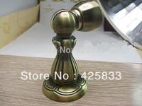 304 Stainless Steel Bronze Magnetic Door Stop Stopper Holder Furniture Cabinet