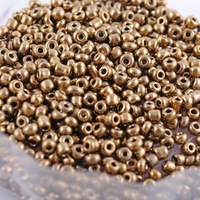 2mm/3mm/4mm 40g New DIY Loose Spacer gold glass Czech Seed beads Fashion garment accessories and jewelry findings free shipping