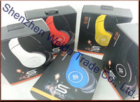Hot sell SOUL by Ludacris SL150 On-Ear Headphones Sealed Packing simple edition +Mic Free Shipping