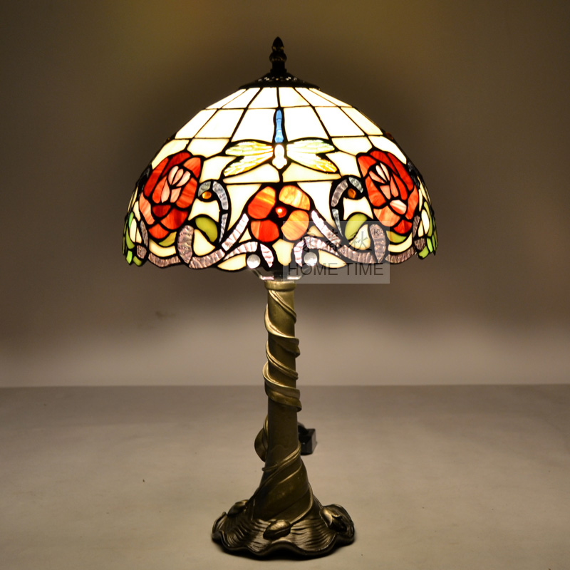 Tiffany Table Lamp Fashion Lighting Rustic Ofhead Lamps