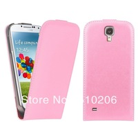 Newest Genuine Leather Case , Flip Real Leather Cover for Samsung Galaxy s4 Mini i9190 ,MOQ:1PCS free shipping