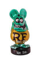 Funko Rat Fink metallic Green Gold Bobble head Exclusive FIGURE