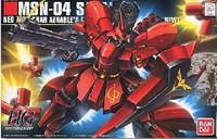 Free Shipping Bandai 1/144 HGUC 088 MSN-04 Sazabi Gundam Model Building Kits robot toy