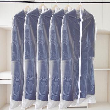 Large suit dustproof cover coat dust bag plastic thickening visual transparent dust-proofing sets (The minimum order amount $10)