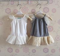 TS3066  free shipping summer fashion Girls spaghetti Braces Shirt , T shirt Kids Vest ,Tank top