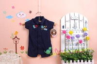 Free shipping ! Children's cart * r 's male treasure carter crawl conjoined ha clothing Polo collar cotton clothing