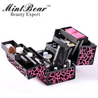2013 High Quality Acrylic Professional Stylish Cosmetics Case, Beauty Organizer, Makeup Box Factory supply