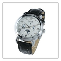 2013- Brand New Mens White Dial 6 Hands Self-Wind UP Mechanical Watch-WAT10020