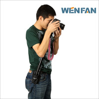 Wenfan professional slr monopod tripod waist pack hiking pole portable photography tripod waist pack