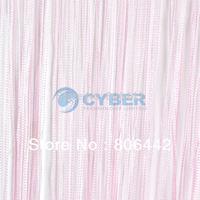 New Pink 300cm*300cm String Curtain, String Panel, Fringe Panel, Room Divider Wedding Drapery 16633