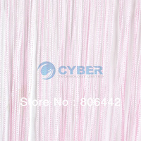 New Pink 300cm*300cm String Curtain, String Panel, Fringe Panel, Room Divider Wedding Drapery 16633