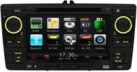 VW SKODA OCTAVIA DVD GPS 7 inch ;2DIN WVGA Digital TFT LCD;800*480;Touch-screen;Rotary volume control