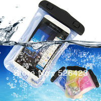 Waterproof Pouch Bag W/ 3.5mm Headset Jack For HTC One X