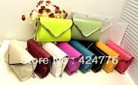 New fashion satchel bags for women cross body PU handbag lady shoulder bags Size: 15X21X6CM