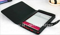 Protective leather case for Sony PRS T1 different color free shipping
