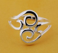 R205 Size:6,7,8,9 925 silver ring, 925 silver fashion jewelry ring fashion ring