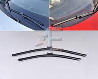 """24""""+19"""" Frameless Steel Rubber Rain Window Windshield Wiper Blade for VW Golf 6 MK6 2008 2009 2010 2011 2012 -CA00982"""