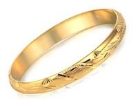 Free Shipping woman gold bangles hotsale woman  golded  bangles