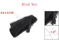 8.4 x 3.3 Meter Anti Bird Netting Mesh Black for Vineyard 6 Pcs