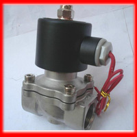 1/2'' Normally Closed 2 Way SS304 Stainless Steel Electric Solenoid Valve Water Diesel 2S160-15.12v 24v 220v