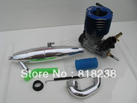 GO R28 Engine with Exhaust pipe Set