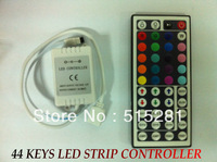 12V 44 Keys IR Remote Controller for RGB SMD 3528 5050 LED Strip light string Lights /6A  for 5Meters Free shipping !!