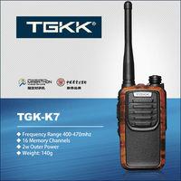 interphone radio: TGK-K7 UHF handheld two way radio