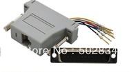10pcs/lot  RJ45 Female to DB25 Male Modular Adapter