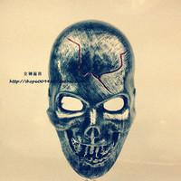 Free Shipping 2014 Wholesale PVC Skull Mask Party Masks