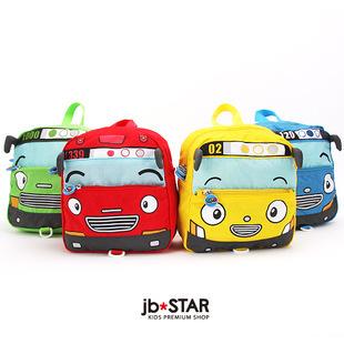 Tayo small bus car cartoon child backpack anti-lost baby backpack school bag  Kids Bag 21X21.5X8CM