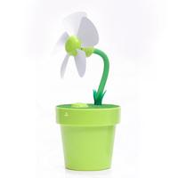 Dole flower pot fan humidifier mini fan usb mini humidifier